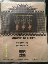 "Susan Katz ""Ghost Dancers"" Cross Stitch Kit Size 11"" x 12 1/2"""