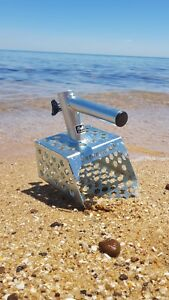 Sand scoop 130mm - beach coin jewellery prospecting metal detecting Aussie Made