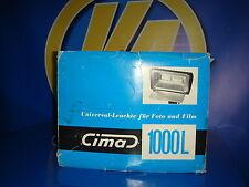 Lampara flash CIMA 1000 LAMPARA DE INTENSIDAD  fotografia vintage