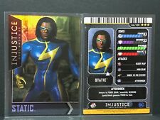 Injustice Arcade Mystery ? Card #86 Static - FOIL - D&B - Dave & Busters