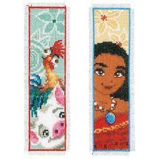 Disney: Moana (juego de 2): puntada cruzada contada Kit: marcadores-PN0169315