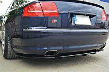 Diffusor ansatz für Audi A8 S8 4E D3 Heckansatz hinten Heck DTM FLap S Splitter