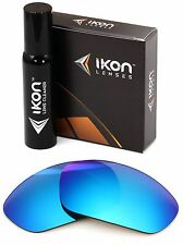 Polarized IKON Iridium Replacement Lens For Oakley Straight Jacket 2007 Ice Blue
