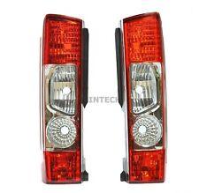 Fiat Ducato Rear Tail Light Lamp Lens Set Left Right N/S O/S 2006 -2014 NEW uk