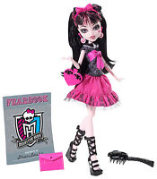 Monster High Draculaura FOTO TAG Picture Day OVP Y8497