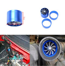 Car Supercharger Single Air Intake Fuel Saver Turbocharger Fan With Rubber Cover