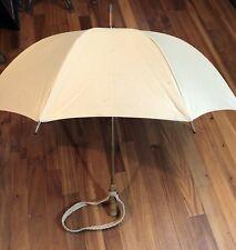 Just Richard American Umbrella New York 35� 8 Metal Ribs Wooden Cane Handle*