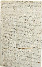 1837 VENEZUELA - Manuscript Letter - CARACAS - LA GUAIRA - Andes Mountain Travel