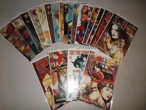 Shi: The Warrior #1-13 + variants (Lot of 20) Complete 1997 Crusade Series, Run