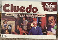 Hasbro Cluedo? Retro Series Board Game - Complete With Instructions - VGC