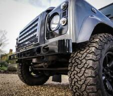 Land Rover Defender Stainless Steel Hurricane Front Bumper - Uproar 4x4