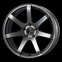 "ENKEI PF07 19x8"" Racing Wheel Wheels 5x112/114.3 Offset 45 Dark Silver"