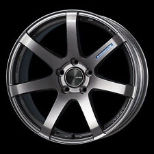 "ENKEI PF07 18x9.5"" Racing Wheel Wheels 5x114.3 Offset 15/25/40 Dark Silver"