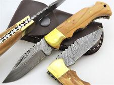 Damastmesser Taschenmesser Jagdmesser-Damast taschenesser- Klappmesser   (Z3)