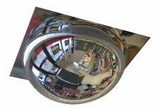 """18"""" Grid Ceiling Safety Mirror Dome 2' X 2' Drop in Panel 360 Degree Viewing New"""