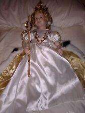 "Danbury Mint ""Little Princess"" Shirley Temple Porcelain Collector Dress up Doll"