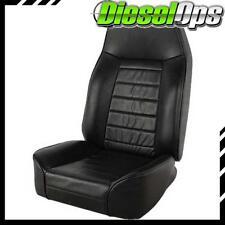 Smittybilt Strandard Bucket Seat Black for Jeep CJ/Wrangler JK/TJ/YJ 1976-2013
