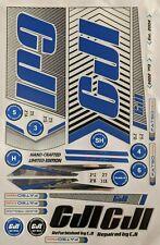 CJI Fatso/Sumo Cricket Bat Stickers Emboss Latest Edition