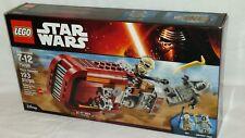 SEALED 75099 LEGO Disney Star Wars REY'S SPEEDER Unkar's Thug 193 pc set RETIRED