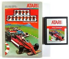 Atari Vcs Game Pole Position CX2694 Namco 1982 US Ntsc Boxed