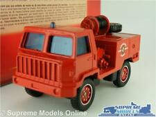 BERLIET CAMIVA Fire Engine Model Truck Lorry 1 50 Scale SOLIDO 2103 Tonergam K8