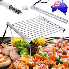 Portable Mini Outdoor Camping FOLDING BARBECUE GRILL BBQ Charcoal Cook Rack