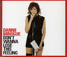 Dannii Minogue Don't Wanna Lose This Feeling RARE CD Single