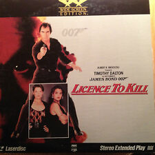 Licence To Kill - James Bond 007 Widescreen Laserdisc LD Buy 6 for free shipping