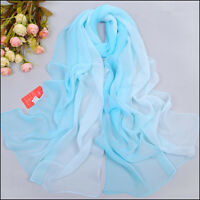 New Fashion Women Long soft Wrap scarf Ladies Shawl Chiffon Scarf Scarves