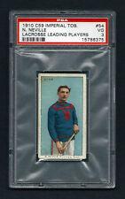 PSA 3 1910 C59 LaCROSSE CARD #54 N. NEVILLE
