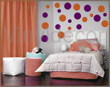 216 POLKA DOTS VINYL WALL ART STICKER CIRCLE DECOR ntbr