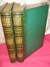 HISTOIRE DE L'ÉLOQUENCE Abbé Henry Grecques-Romaines-Prédicateurs 2/2 vols