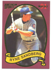 Ryne Sandberg 1991 American Sports Monthly Card; NM-Mint; Chicago Cubs