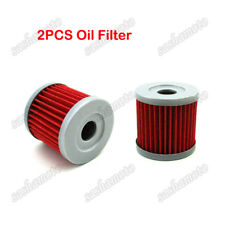 2x Oil Filter For ARCTIC CAT DVX400 TS KAWASAKI KFX400 KLX400SR Dirt Motor Bike