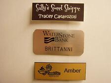 Custom Engraved Name Badges ( buy 2 get 1 free )