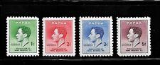 HICK GIRL- MNH. BRITISH-PAPUA STAMPS  SC#118-2 1937  KING GEORGE VI    E147