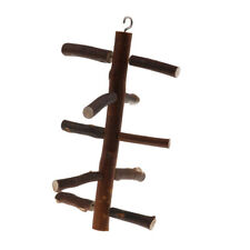 Wooden Rotate Ladder Cage Climbing Hanging Activity Branches Climbing Stairs