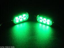 GREEN 5050 SMD LED ADD ON POD 6 LEDS ON POD FITS CARS TRUCKS MOTORCYCLES SUVS