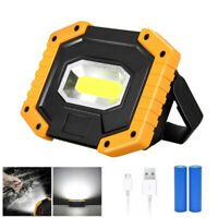 2000LM Rechargeable Emergency Work Work Light Portable Camping Site Flood Lamp