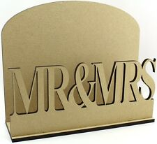 MR & MRS LETTERE POSTA POST Rack MDF matrimonio regalo idea
