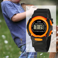 Children Digital Watches Sport Waterproof Boy Teenagers Plastic Wristwatch Watch