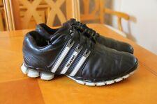 Adidas Tour 360 Golf shoes Black  leather 10.5 uk Eu45 1/3rd good condition