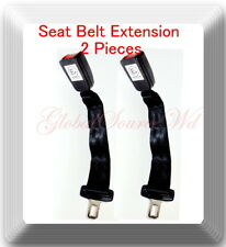 "2 Kits Universal Extensions Safety Seat Belt Black "" only extensions"""
