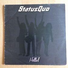* STATUS QUO - HELLO - Orig 1973 UK LP *