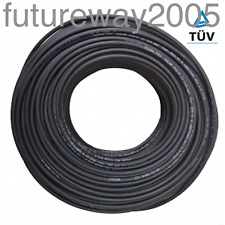 NEW 6mm2 TUV 1800v Premium Solar Cable 20 Meters - [TUV Approved, Halogen free]