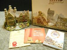 Lilliput Lane Armada House English Collection Midlands #516 Nib & Deeds 1991