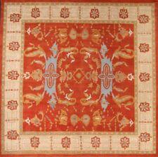 Hand-Tufted Geometric Rust Color! 5x8 Agra Kazak Oriental Area Rug Wool Carpet