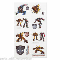 Transformers Tattoos x 8 - Autobots - Birthday Party - Transformers Favours Loot
