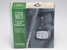Brookstone Electronic Golf Scorecard