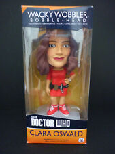 "Dr Who Clara Oswald 6"" Wacky Wobbler Bobble Head Figura-Funko"